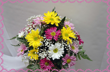 Dazzling Daisy Day  Bouquet from Rick Anthony's Flower Shoppe in Lansing and Holt, MI
