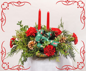 Down Home Christmas from Rick Anthony's Flower Shoppe in Lansing and Holt, MI