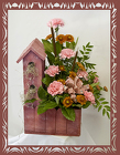 Beautiful Bird House Bouquet from Rick Anthony's Flower Shoppe in Lansing and Holt, MI