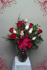 Loves White and Red Roses from Rick Anthony's Flower Shoppe in Lansing and Holt, MI