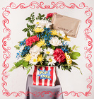 Our POPular Bouquet from Rick Anthony's Flower Shoppe in Lansing and Holt, MI