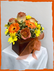 Beautifully Bronzed Bouquet from Rick Anthony's Flower Shoppe in Lansing and Holt, MI