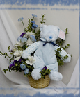 Baby Plush Arrangement from Rick Anthony's Flower Shoppe in Lansing and Holt, MI