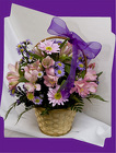 Lovely Lavender Basket from Rick Anthony's Flower Shoppe in Lansing and Holt, MI
