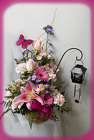 Butterfly Wind Chime Bouquet