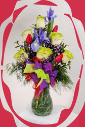 Tulip Treat for Valentines Day from Rick Anthony's Flower Shoppe in Lansing and Holt, MI