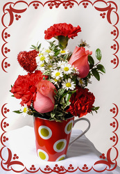 A Cup Of Love from Rick Anthony's Flower Shoppe in Lansing and Holt, MI