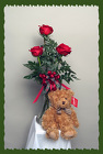 Roses in a Vase and Bear it