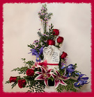 Forever With The Angels Fancy Floral from Rick Anthony's Flower Shoppe in Lansing and Holt, MI