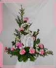 Treasured Memory Angel Arrangement from Rick Anthony's Flower Shoppe in Lansing and Holt, MI